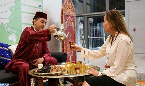 """التدفق على المنتوجات الغذائية المغربية بمعرض """"سامر فانسي فود"""""""