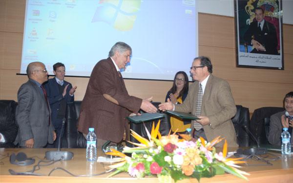 التوقيع على اتفاقية شراكة بين مركز الاستشارة الفلاحية المغربي الألماني ، و الفدرالية البيمهنية المغربية للحليب