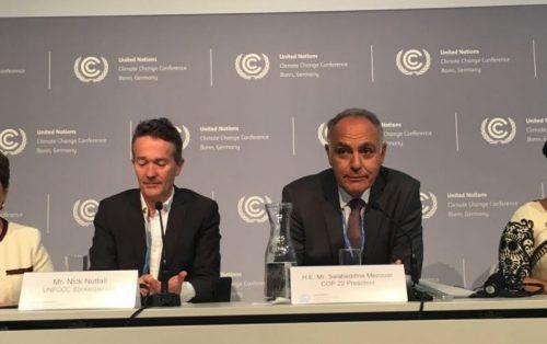 تنظيم الأمانة التنفيدية لإتفاقية الأمم المتحدة بشأن التغيير المناخي وبروتوكول كيوتو في دورته السادسة ولأربعين للهيئات الفرعية ما بين 08 إلى 18 ماي