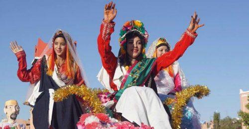 قلعة مكونة تحتفل بمهرجان الورد في دورته 55