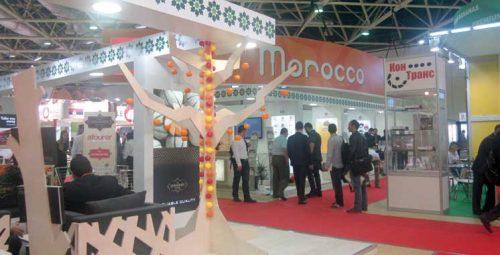 """إفتتاح المعرض الدولي للمنتجات الغذائية """"وورلد فود موسكو """" بمشاركة 60 دولة من بينها المغرب."""