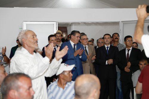 أخنوش يترأس مراسيم اختتام النسخة الأولى للمعرض الوطني المهني للحبوب والقطاني