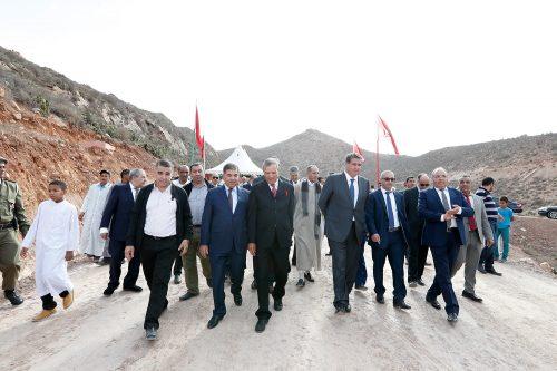 تيزنيت… السيد عزيز أخنوش يفتتح النسخة الثانية للمعرض الوطني للمراعي ويقف على سير مشاريع تنموية قروية بالإقليم