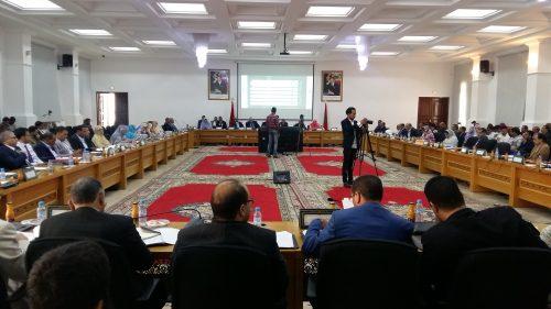مجلس جهة الداخلة وادي الذهب يدعو إلى فتح آفاق أرحب لصادرات الجهة