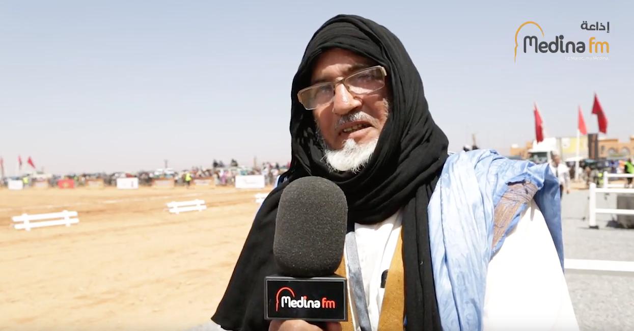 حوار محمد الكزومي مقدم فرقة ورق زيز بكلميم للفروسية والتبوريدة