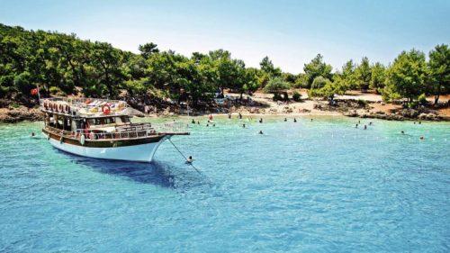 بسبب الميزة الفريدة لرمالها الحكومة التركية تقرر وضع جزيرة سدير بولاية موغلا الساحلية تحت الحماية