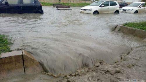 فيضانات بتونس تقتل أربعة أشخاص