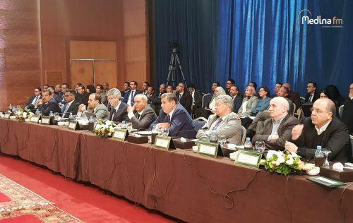 لقاء يجمع عزيز أخنوش مع مهنيي القطاع الفلاحي حول حصيلة برامج مخطط المغرب الأخضر بالصخيرات