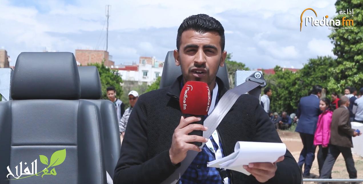 فيديو : حادثة سير تجريبية بالملتقى الدولي للفلاحة أجي تشوف دور حزام السلامة